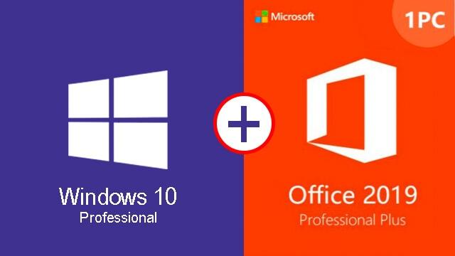 Windows-10PRO Office-2019PRO Activación