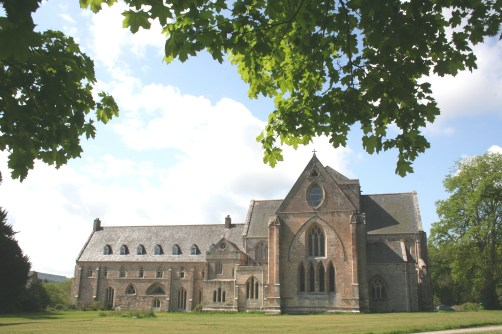 Pluscarden Abbey today