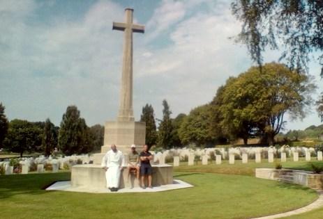 Visiting WW1 Cemetery