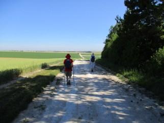 Long, dazzling Roman roads