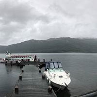 Our Loch Lomond ferry awaits