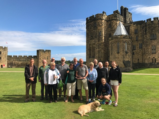 Pilgrimage reaches 1000 miles at Alnwick Castle