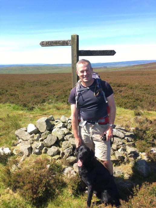 Leaving the Pennine Way