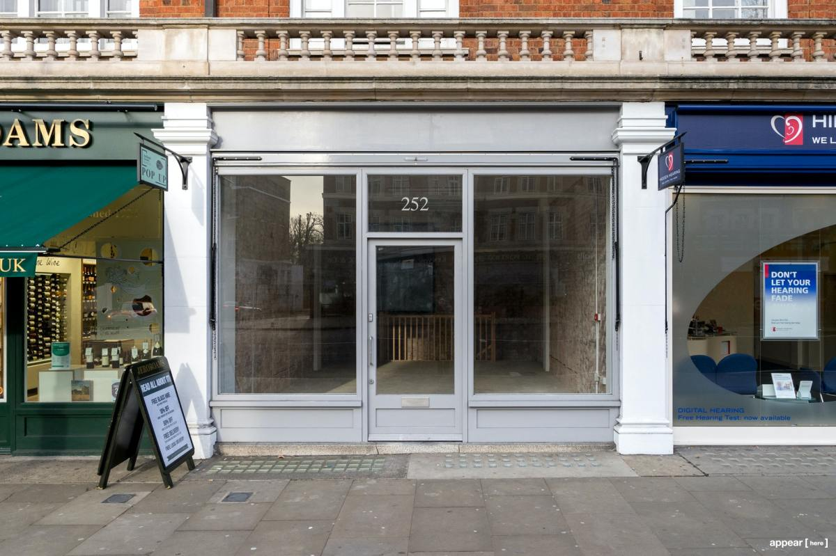 Rent A Space Kensington High Street Grey Boutique Pop Up Shops Showrooms Galleries In London