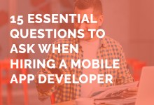 hiring mobile app developer questions to ask