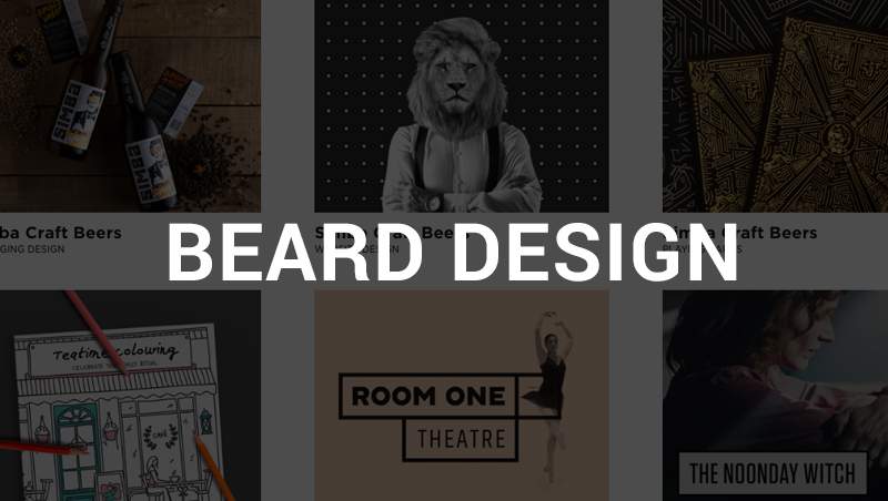 beard design app design agency india