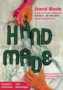 Tentoonstelling Handmade, Museum Boijmans van Beuningen, Rotterdam
