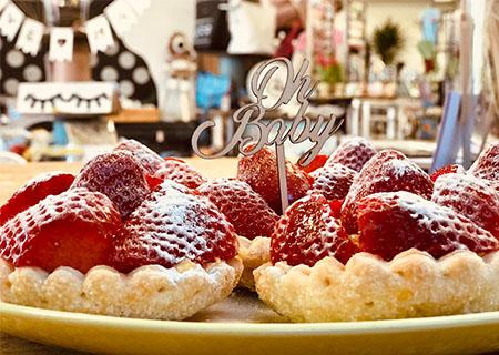 Aardbeienschuitjes