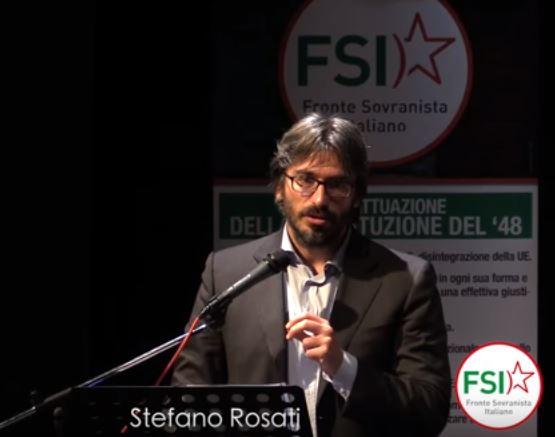 Stefano Rosati (Fronte Sovranista Italiano): elezioni regionali del Lazio a rischio invalidità