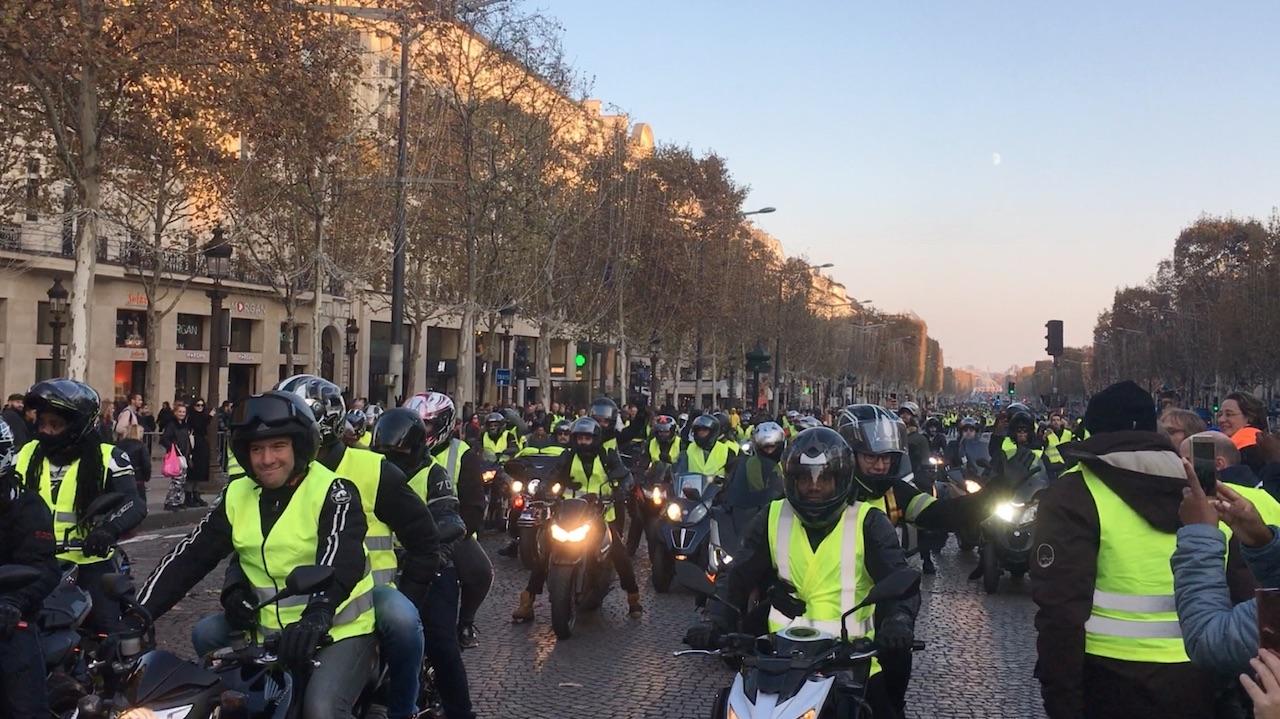 Mélenchon: Il movimento rivoluzionario in giallo