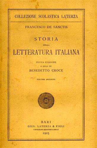 La 'Storia' di Francesco De Sanctis (prima parte)