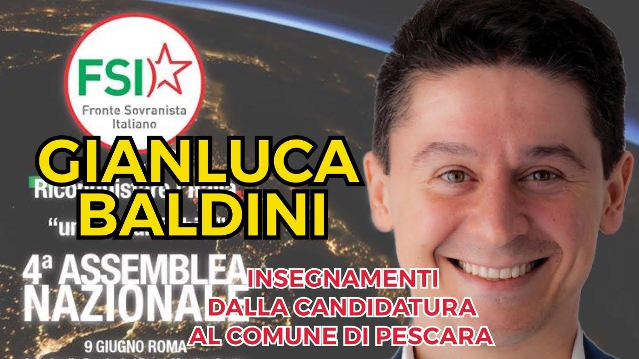Gianluca Baldini: cosa ho imparato dalla candidatura a Sindaco di Pescara (4ª Assemblea nazionale del FSI)