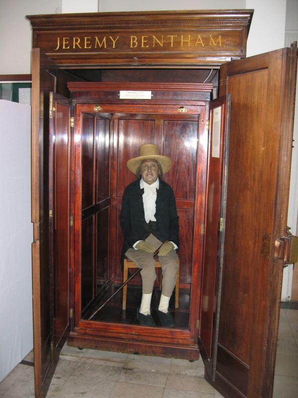Jeremy Benthams Auto Icon