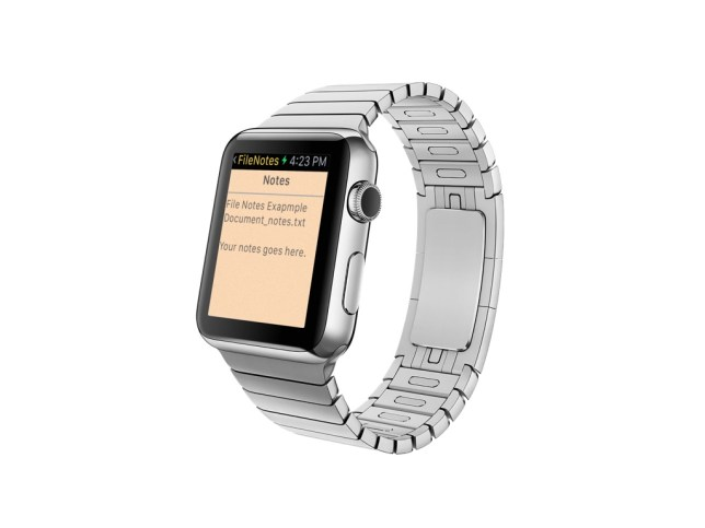 Find your notes on Apple Watch