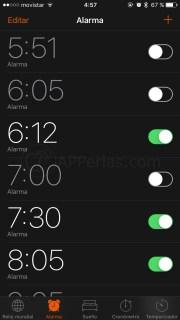 Como hacer que suene una canción en la alarma del iPhone