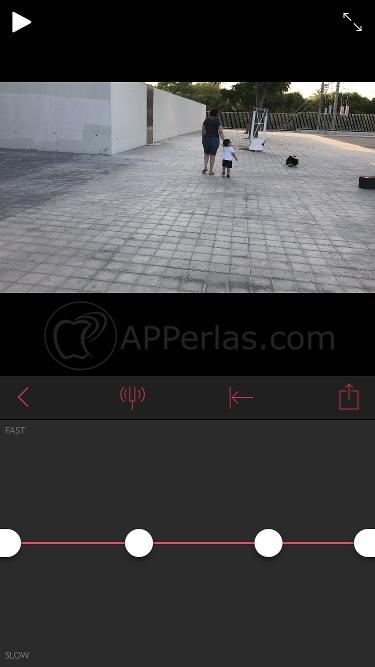 Edita la cámara lenta y rápida en un mismo vídeo