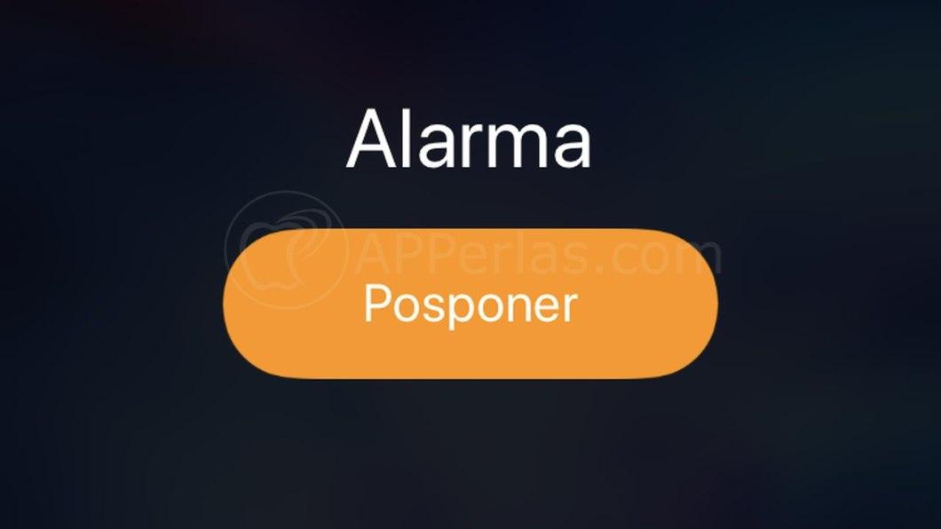 Alarma del iPhone
