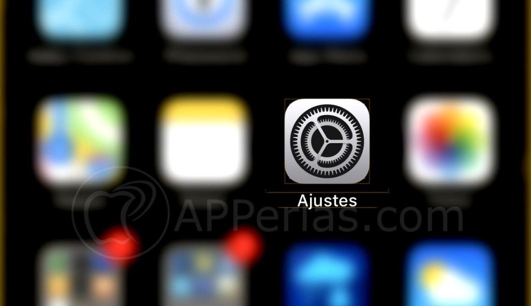 Ajustes iOS