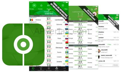 Resultados de fútbol 3.5.0 app