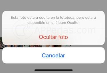 Haz tus fotos privadas