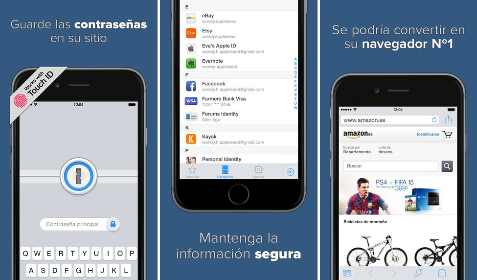 Capturas 1Password 5.3