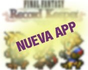 Final Fantasy record Keeper nueva app
