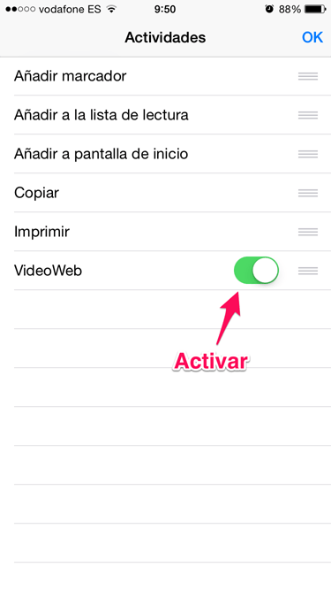 vídeo desde Safari 2