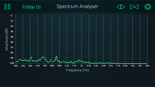 SPECTRUM ANALYZER APP
