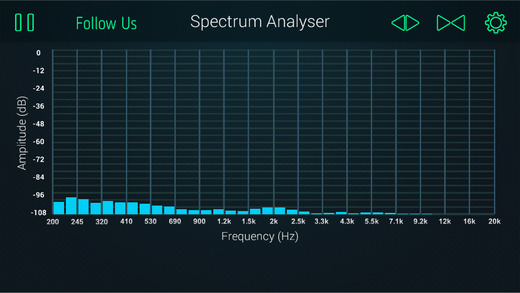 APP SPECTRUM ANALYZER