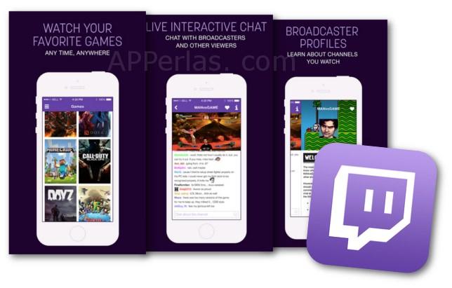 Twitch partidas de juegos en directo