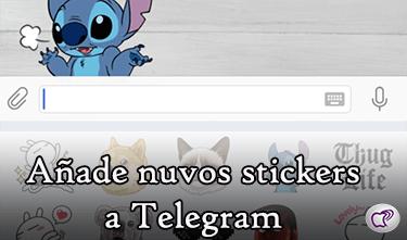 stickers a Telegram