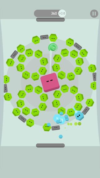 Juego Brickies para iOS