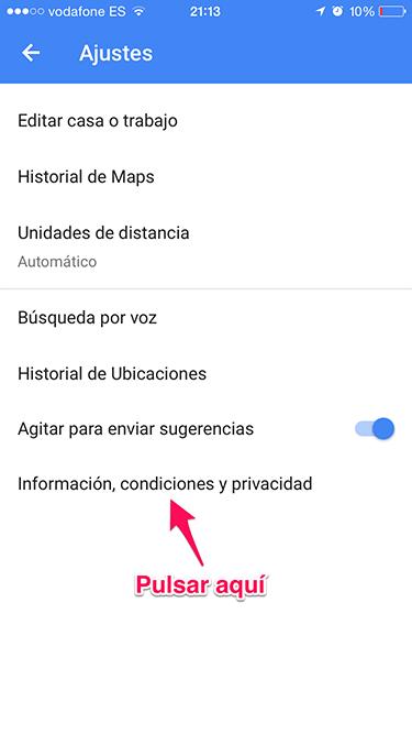 app de Google Maps 3