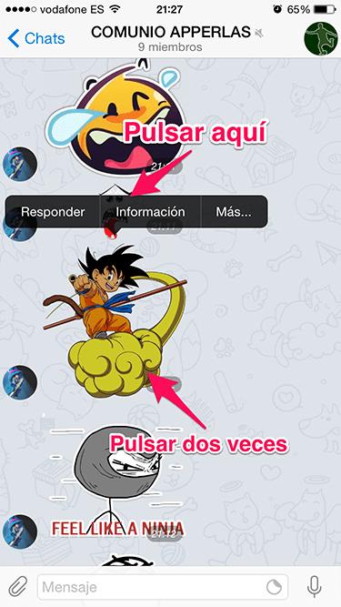 stickers a Telegram 1