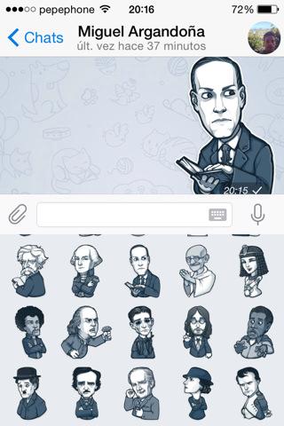 Nuevos emoticonos y edición de vídeo en TELEGRAM