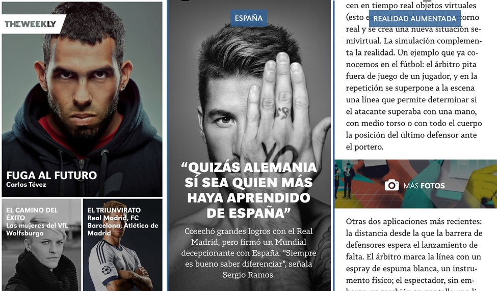 The FIFA weekly imágenes