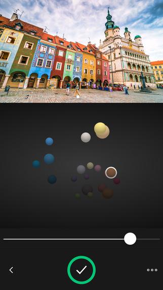 Interfaz de Adobe Hue CC