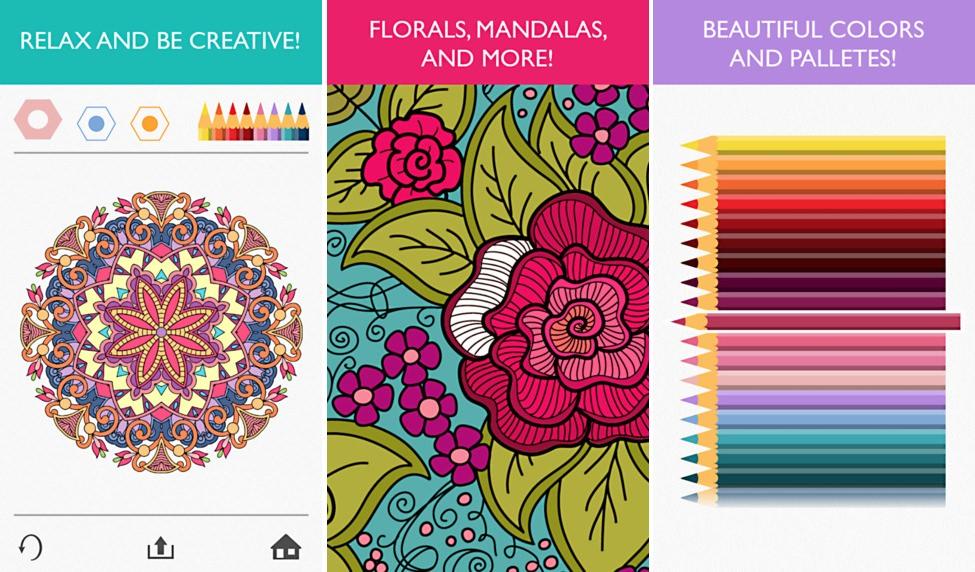 Colorfy app para colorear para adultos