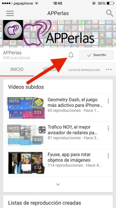 Youtube vídeo vertical