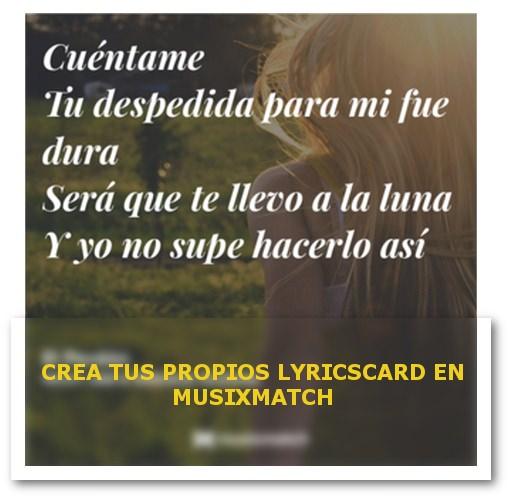 LYRICSCARD