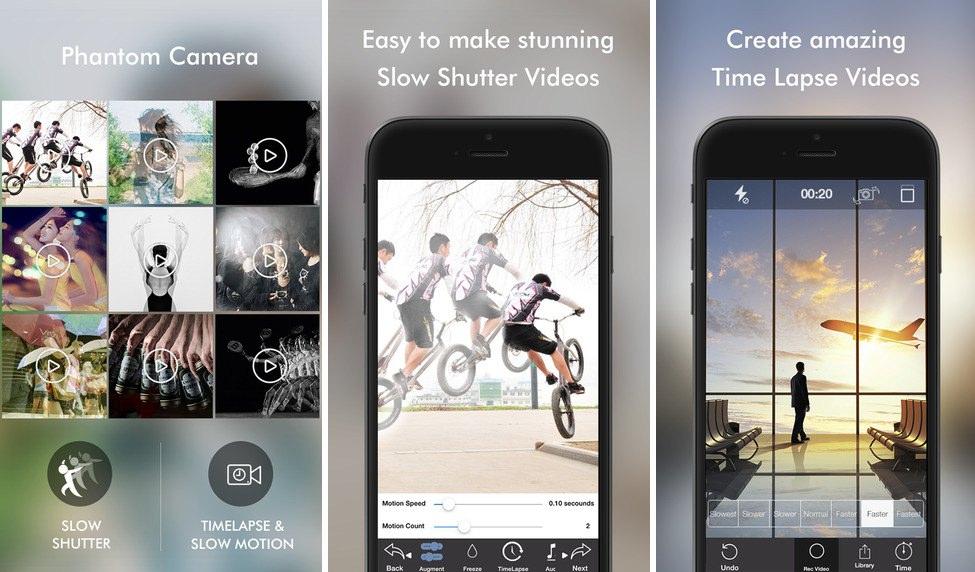 Imágenes de Phantom Camera app