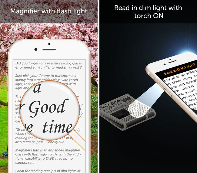 Magnifier Flash compo