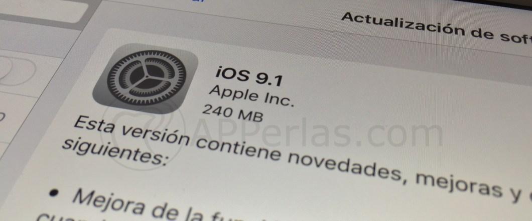 ios 9.1 iPhone 4S