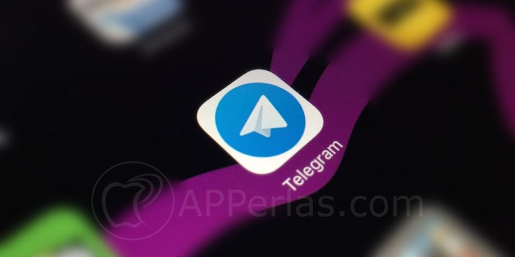espacio en Telegram