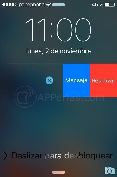 Whatsapp mensaje llamada