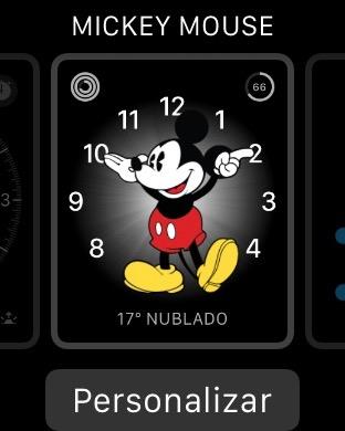esferas del Apple Watch 2