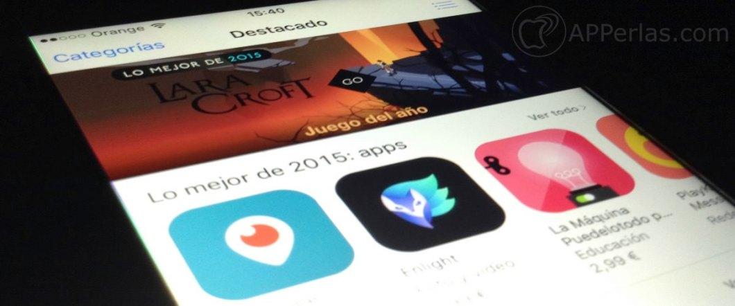 Lo mejor 2015 apps