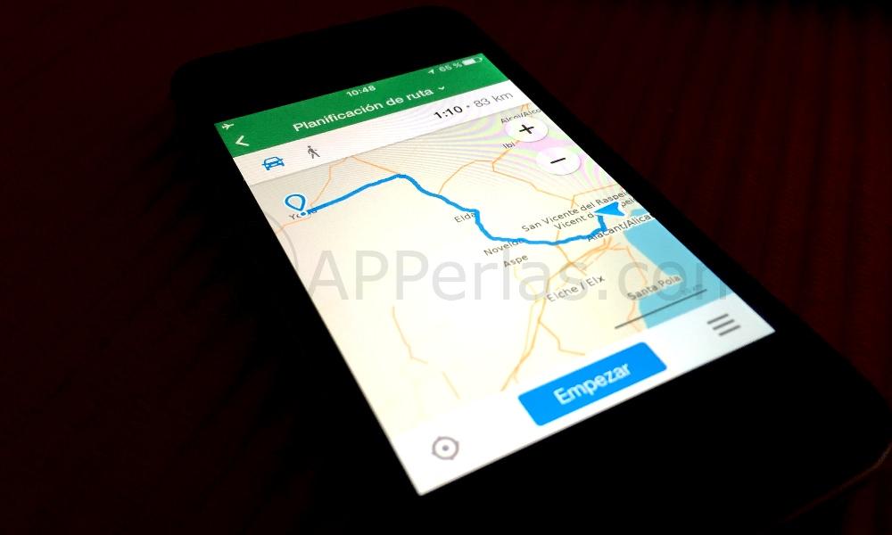 Maps.me app de mapas offline iPhone