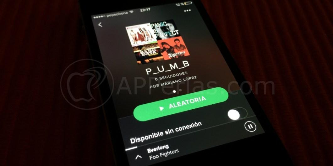 Nuevas funciones de Spotify