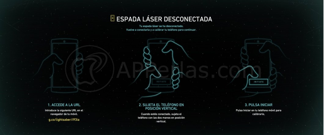 Convierte iPhone en espada laser